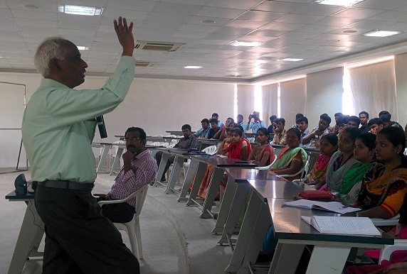 "Guest Lecture on ""Advanced Processor Design Using Vedic Maths"" – Mr.G.Muthuraman Retd. Scientist, ISRO –Trivandrum."