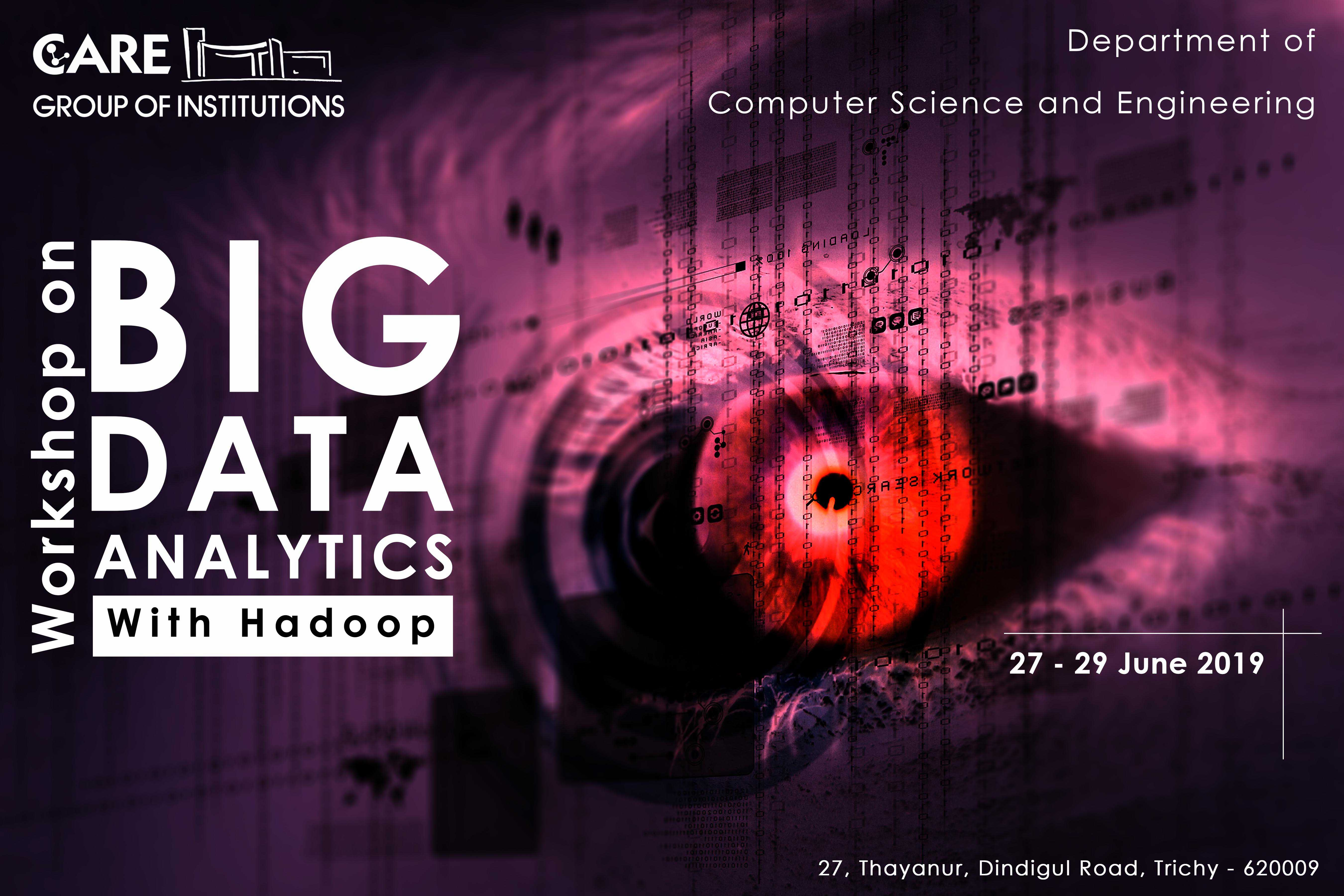 Workshop on Big Data Analytics(with Hadoop)